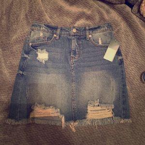 Wild Fable Denim Skirt